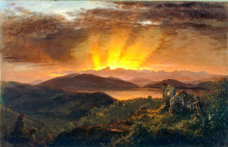 3rdart frederic edwin church 1826 1900 for Frederick church paintings