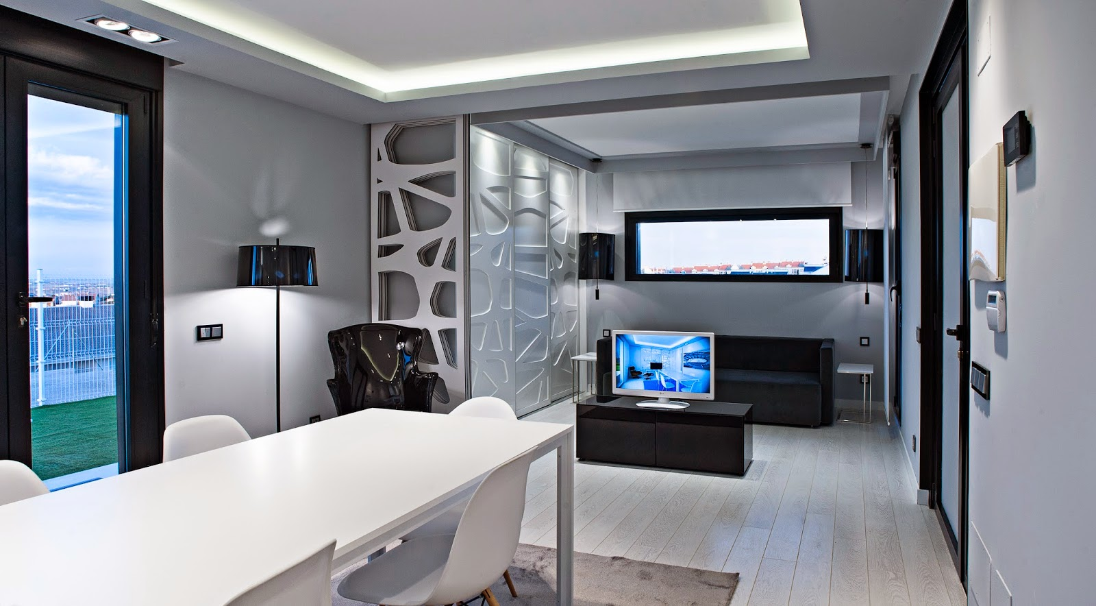 Salón modelo loft Resan Modular