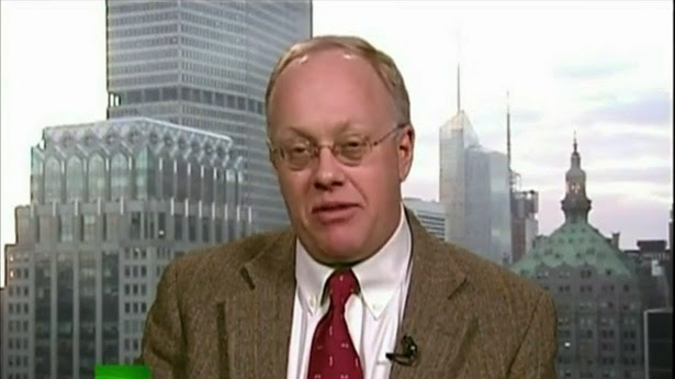 The handsome Chris Hedges and his writings