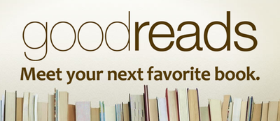 Goodreads home page screenshot