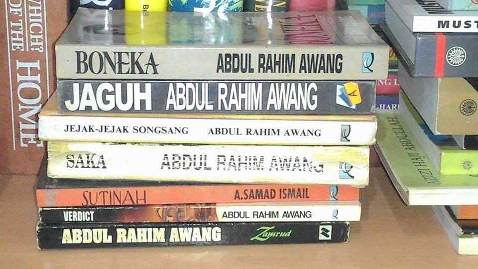 Buku Koleksi Abdul Rahim Awang