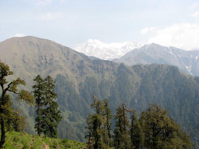 Views from Gujar kothi