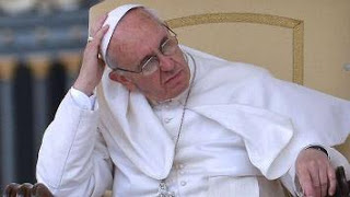 puzzled Pope Francis