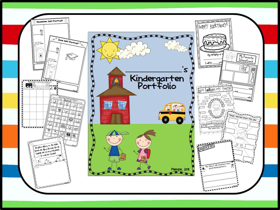Kindergarten Book Cover Ideas : Bigger and better kindergarten portfolio memory book
