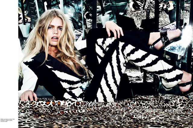 Elle Serbia, Elle magazine, Elle, fashion, éditorial, style, trend, sports, reflection, Van Der Graaf, Arcin Sagdic, spring, summer, 2013