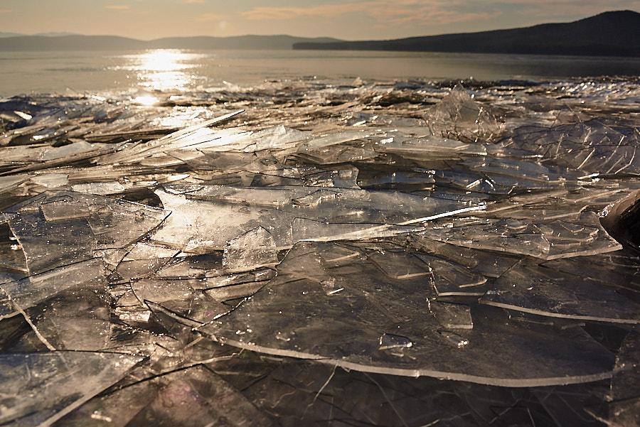 Тургояк во льду