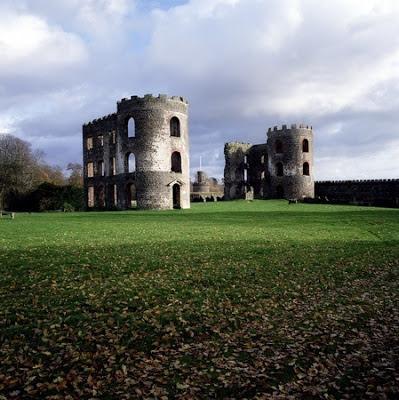 Castillo de Shane, en el Condado de Antrim