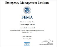 L-146 The Homeland Security Exercise Evaluation Program (HSEEP) Course