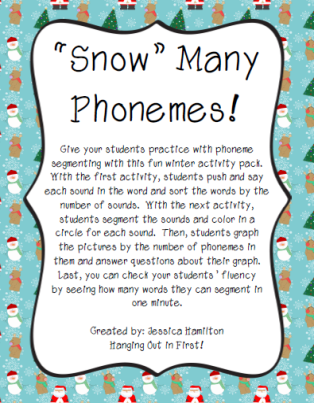 http://www.teacherspayteachers.com/Product/Phoneme-Segmenting-Winter-982482