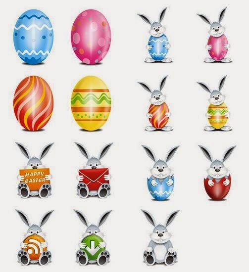 Easter Vector Festive Eggs