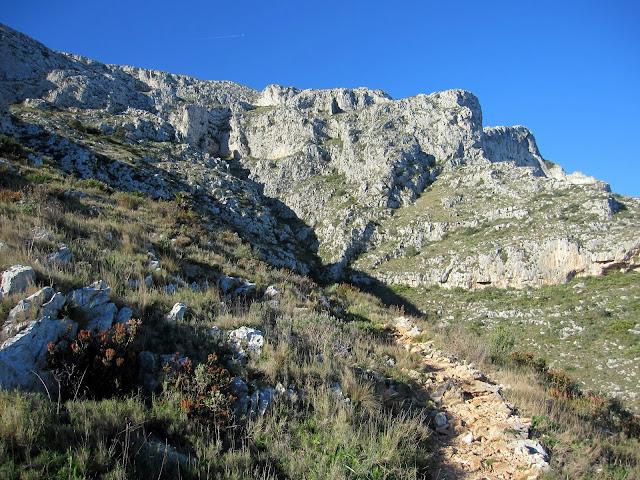 Barranc del Brúfol. El Montgó