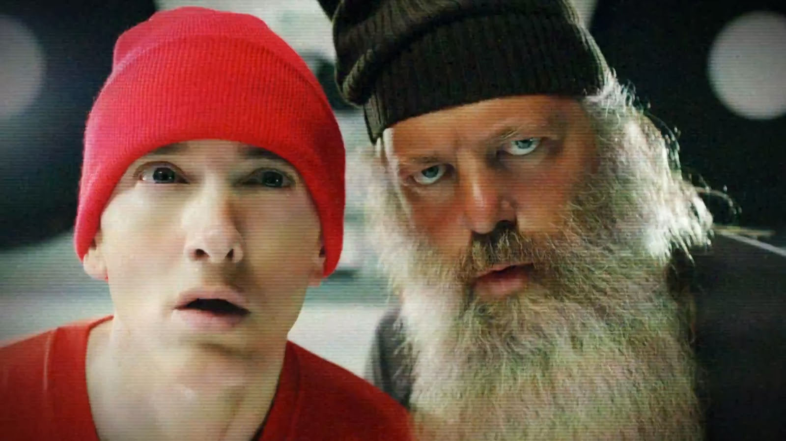 Eminem adn Rick Rubin are entertaining