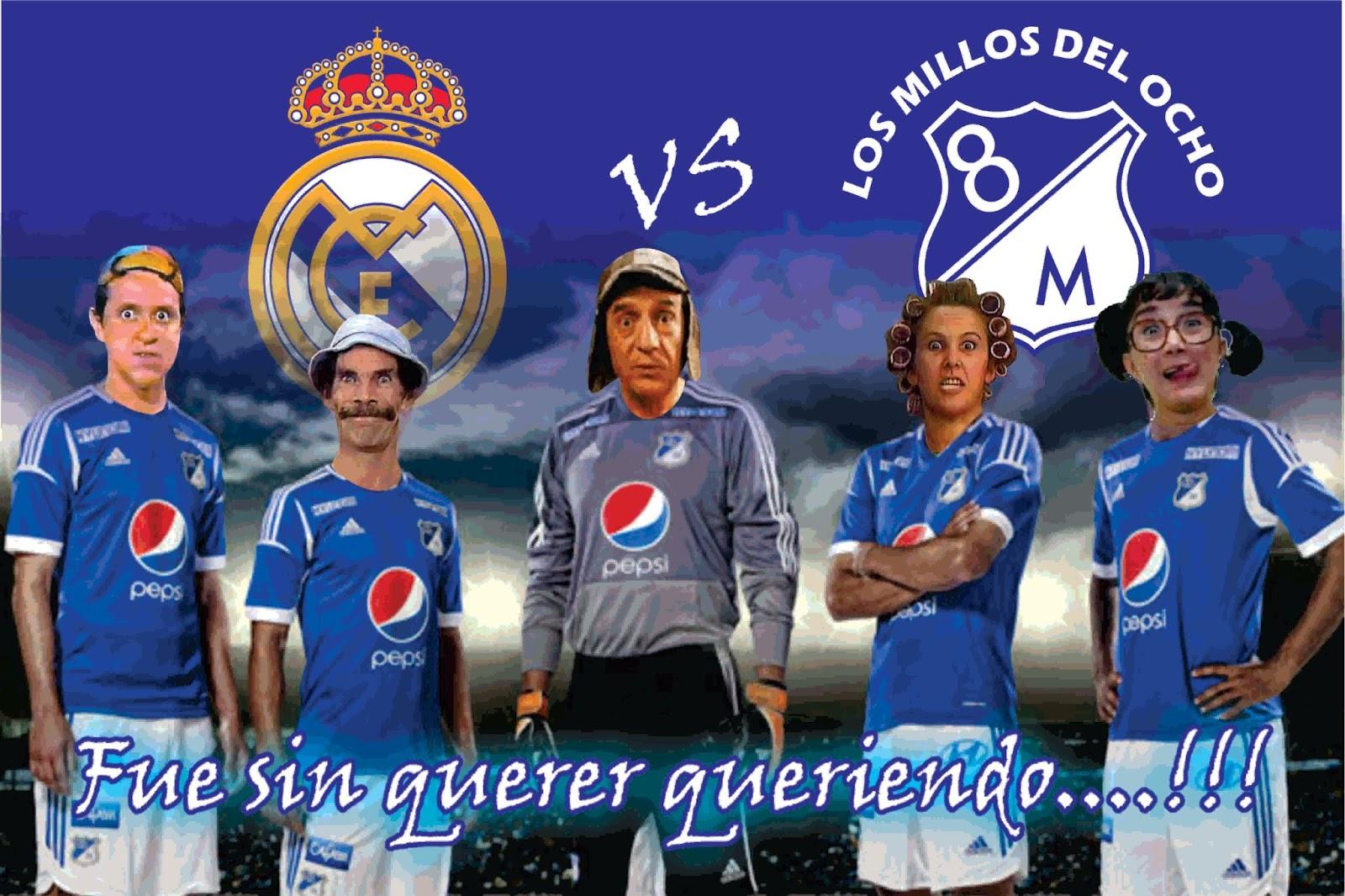 Real Madrid 8, Millonarios 0: los memes