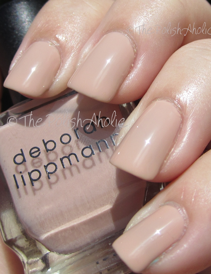 The PolishAholic: Deborah Lippmann Naked
