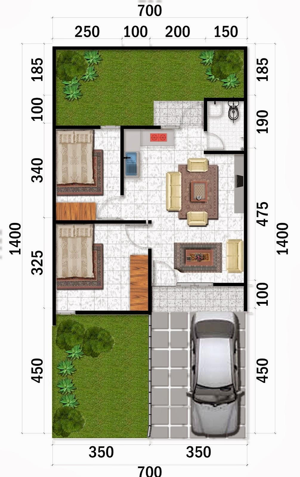 desain rumah minimalis idaman model dan denah rumah minimalis