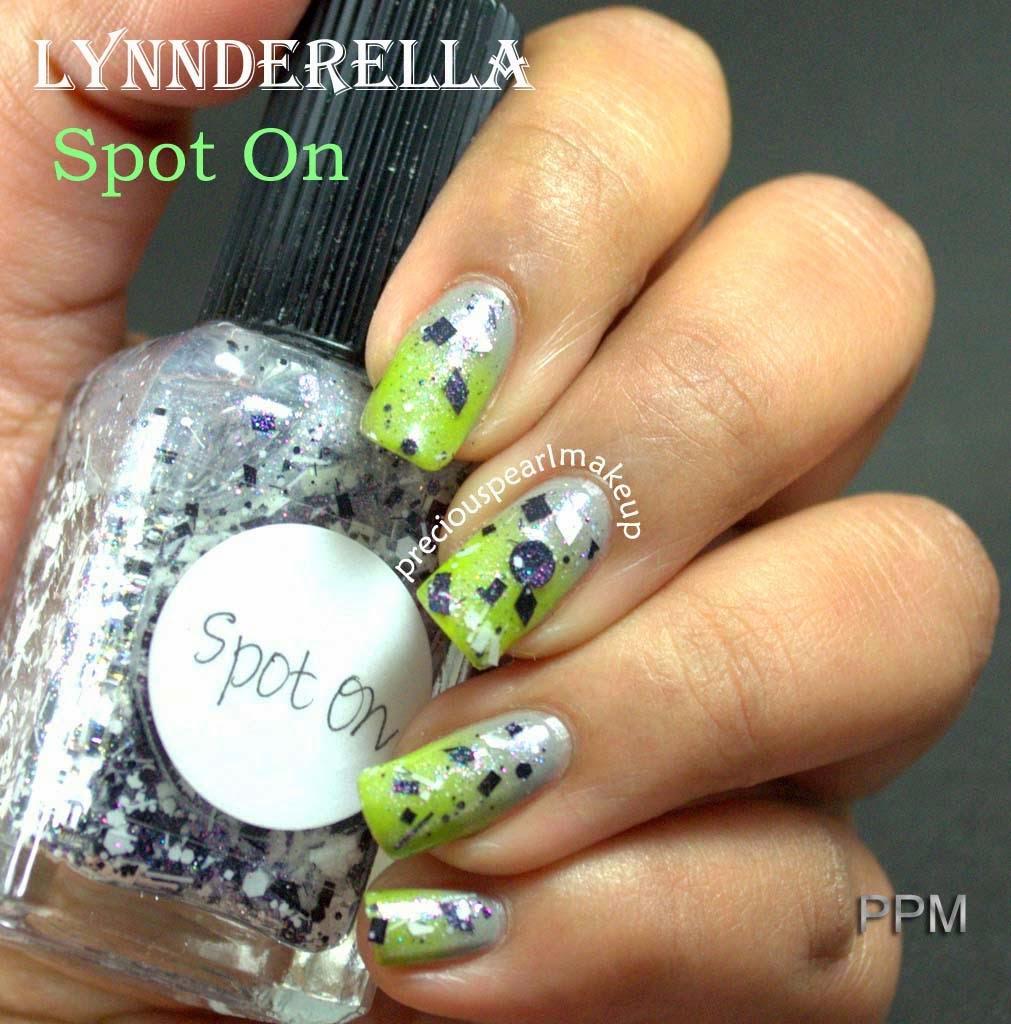 preciouspearlmakeup: Lynnderella Nail Lacquer Spot On