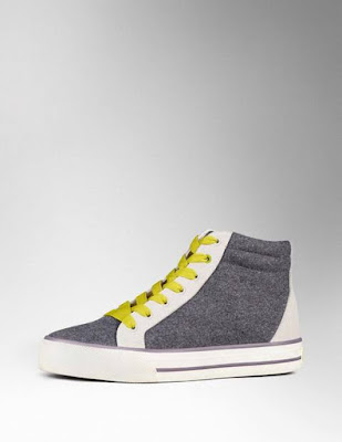 Boden High Top Trainer AR686