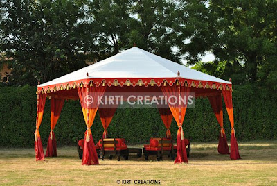 Garden Maharaja Pavilion Tents