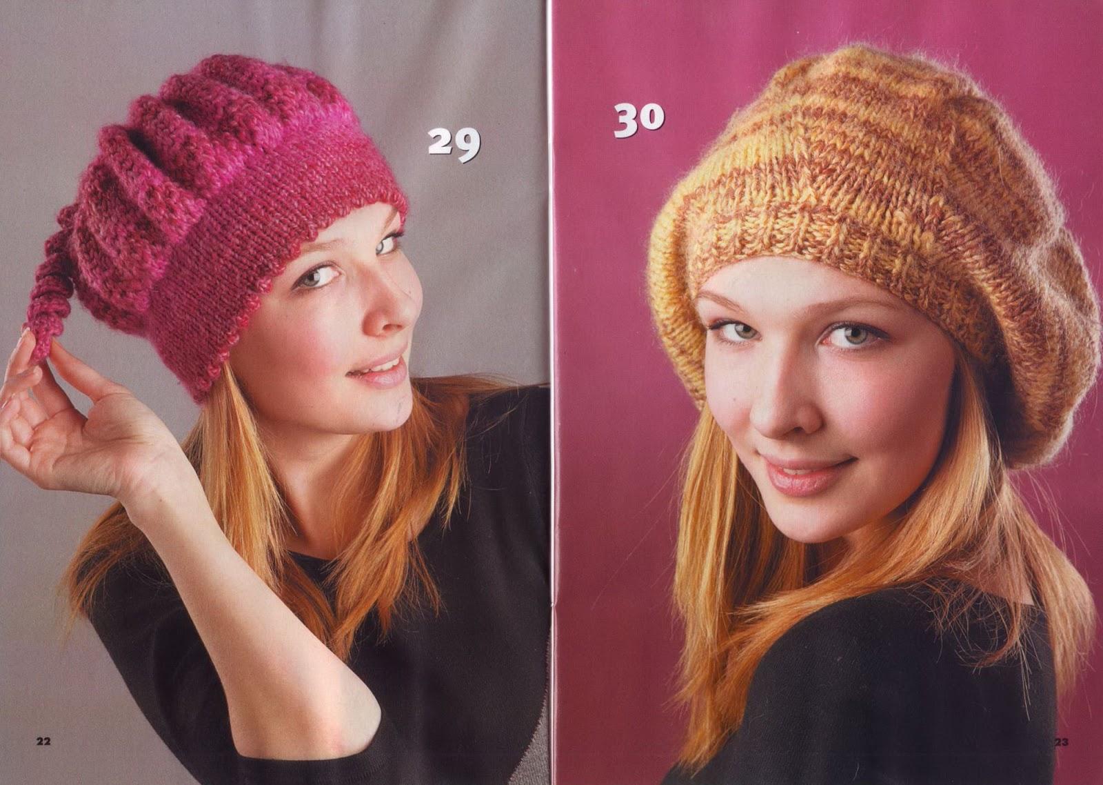 Как сделать вязанною шапку 253