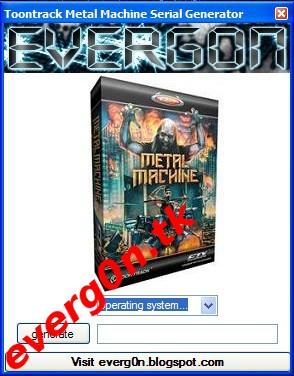 toontrack metal machinery sdx free download