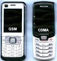 Pengertian Teknologi CDMA dan GSM