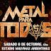"""Llega la quinta edición del """"Metal para todos"""""""