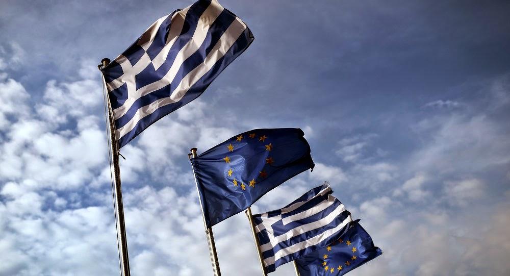 Greqi - Hiqet flamuri i BE-së në Patras pasi mori 1 miliardë euro financime nga Bashkimi Europian