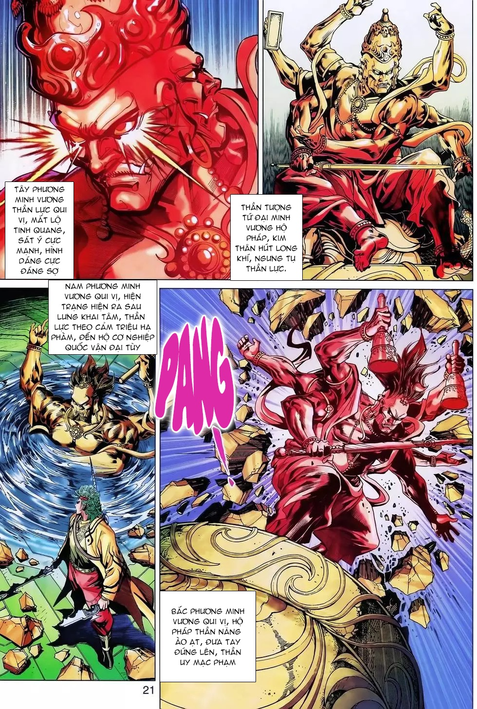 Thần binh huyền kỳ 3 - 3.5 Chapter 174b - Hamtruyen.vn