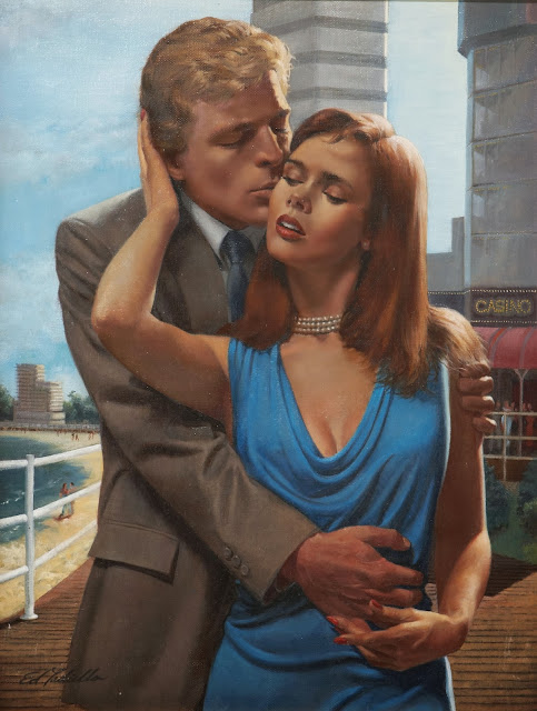 Boardwalk, ed tadiello, cute painting