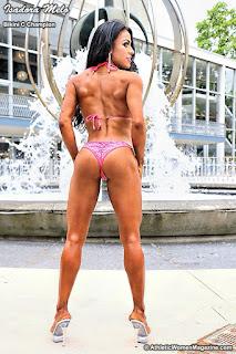 bikini competitor Isadora Melo