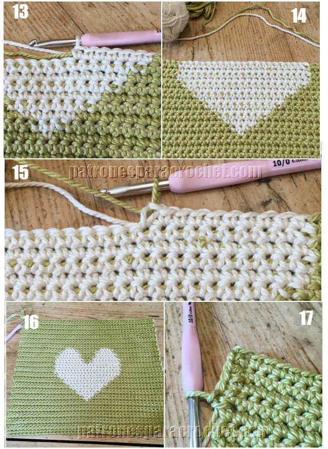 Maravilloso bolso crochet para compras tutorial paso a - Bolso ganchillo paso a paso ...