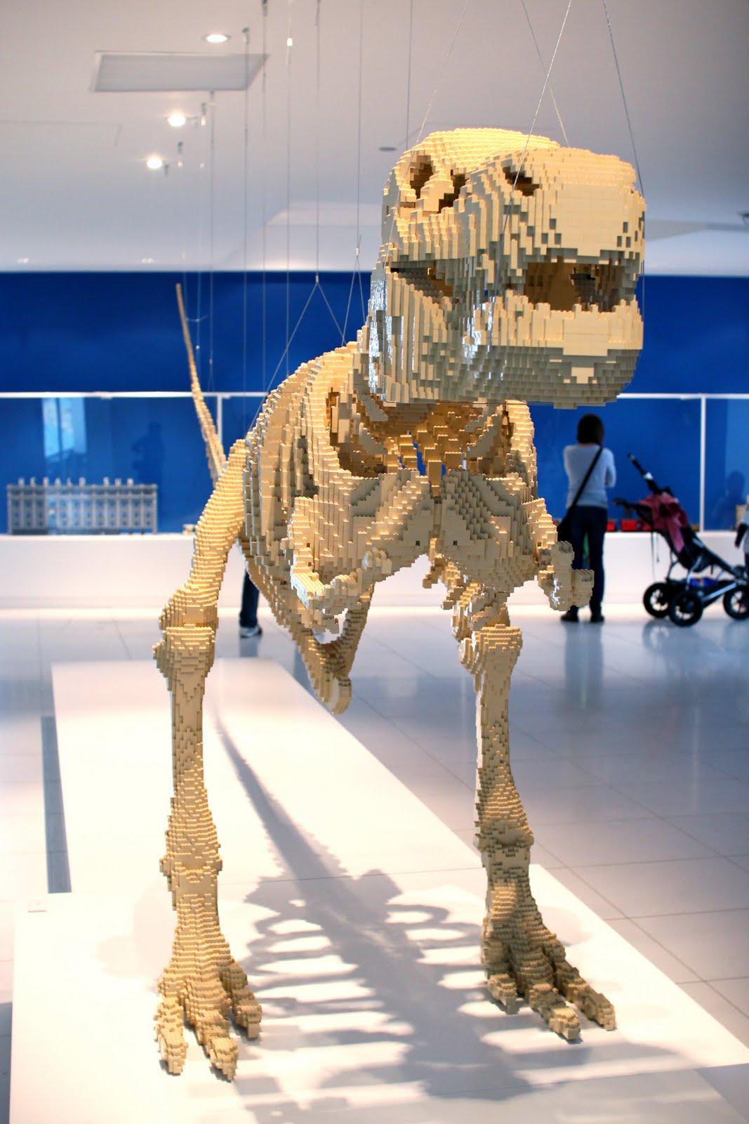 Koprolitos: El dinosaurio de Lego de Nathan Sawaya
