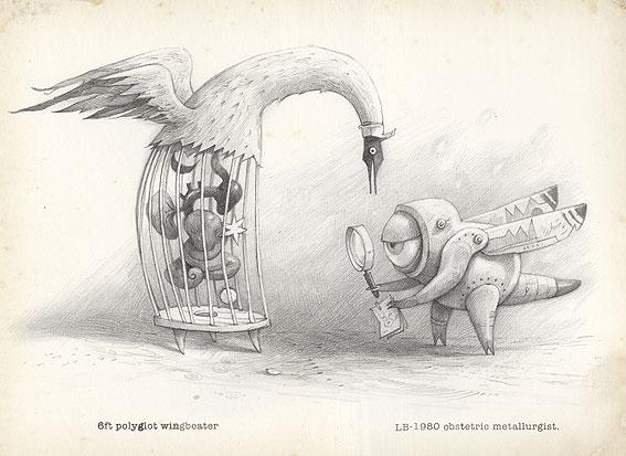 Shaun Tan Illustration