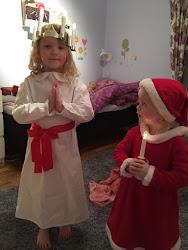 Trevlig Lucia och God Jul