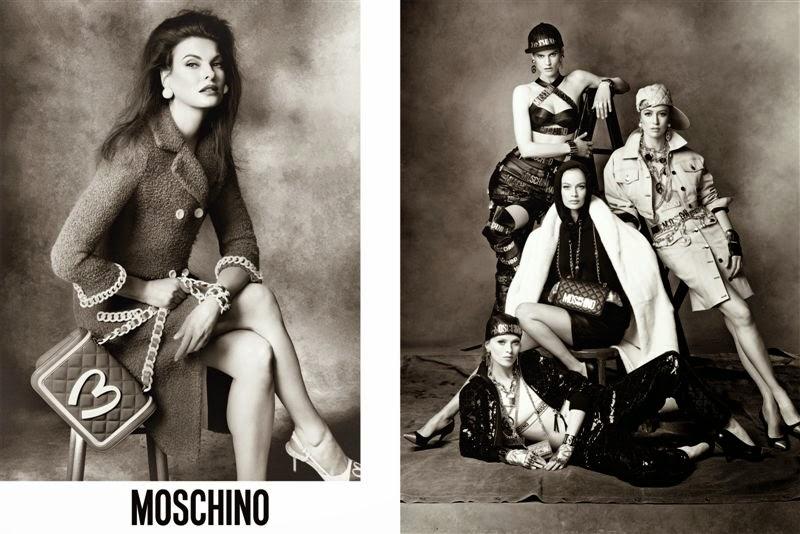 Moschino ad campaign