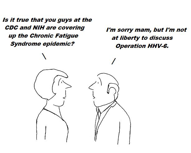 cartoon, hhv-6, cdc,nih, aids