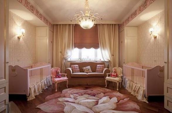Ideas de decoraci n de dormitorios de ni os cl sicos y for Decoracion clasica contemporanea
