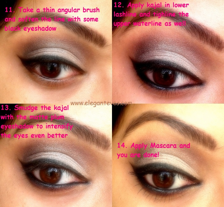 Bengali Bridal Eye Makeup Soft Taupe Smokey Eyes Elegant Eves