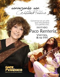19 de noviembre en Conversando con Cristina Pacheco
