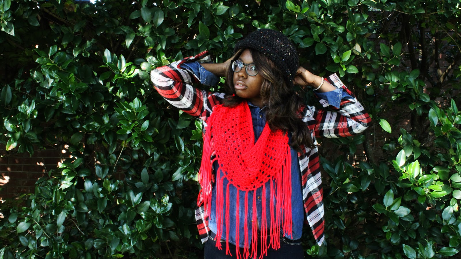 The Dream Crochet Blog Diy How To Crochet A Fringe Infinity Scarf