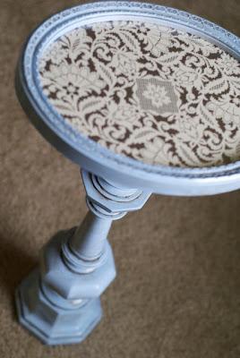 Be inspired diy pedestal table for Pedestal table diy