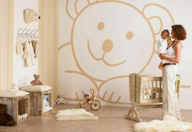 Cómo decorar la habitación del bebé colores decoración de habitación de bebés