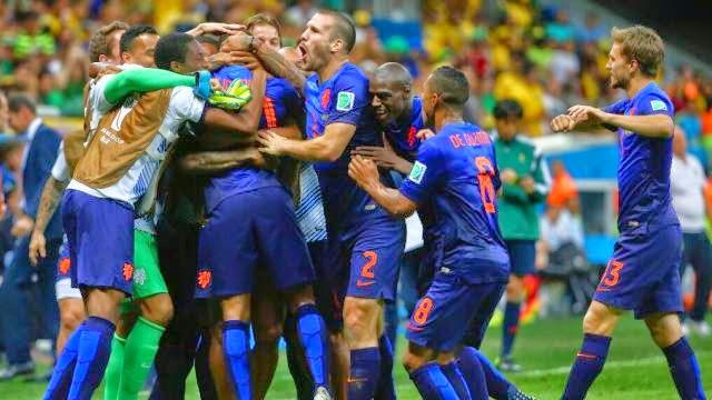 هولندا تضاعف احزان البرازيل بثلاثية وتحتل المركز الثالث
