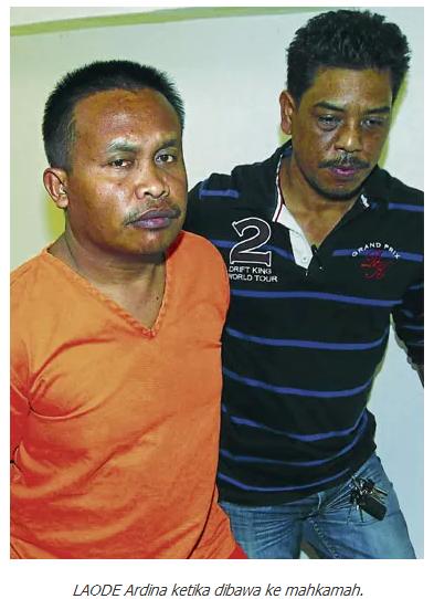 Terkini, Wajah Selamba Ardi Hamza Perompak & Pembunuh Pegawai AmBank