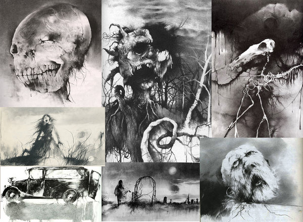 RAZORWIRE PICTURES: Stephen Gammell\'s World Of Horror