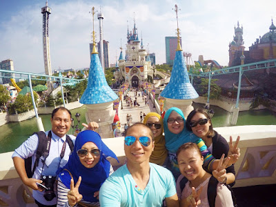 80 Hari di Korea : Hari 17 (Lotte World Seoul)