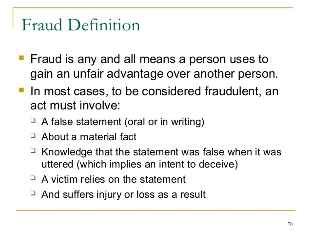 Superior IF YOU DO NOT KNOW WHAT FRAUD IS: WELL IT IS A FUCKING CRIMINAL ACT,  NOTHING BUT A CRIME COMMITTED BY A PREDATOR TARGETING AND EXPLOITING AN  UNKNOWING ...