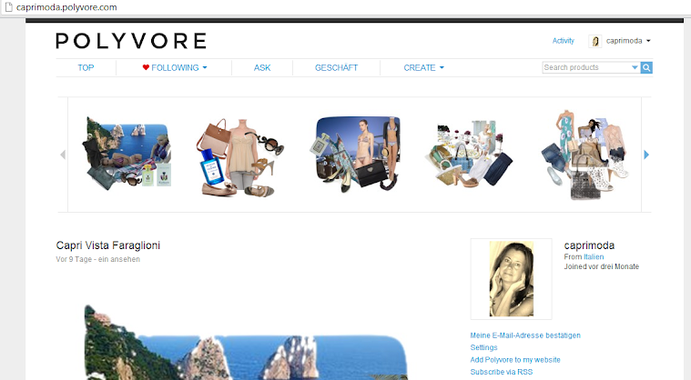 Caprimoda's Site at Polivore