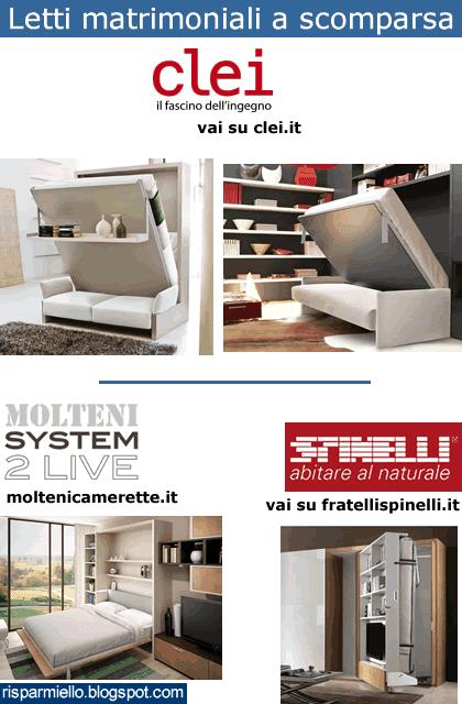 Letti A Scomparsa Economici ~ Idées de Design D\'intérieur