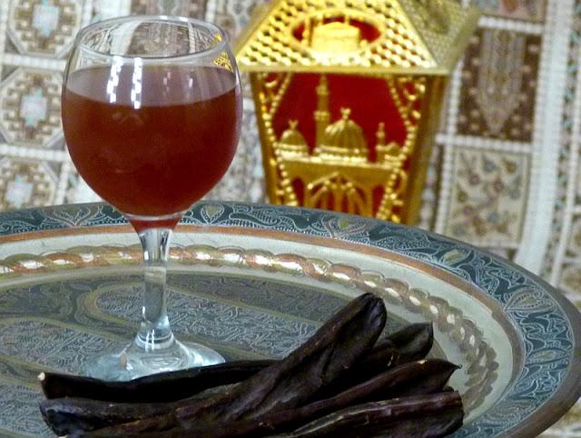 Kharoub Carob Saft Getränk Tee Ägyptische Rezepte Ramadan